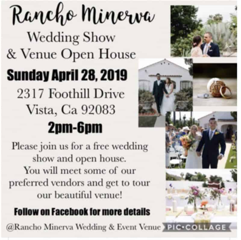 Rancho Minerva Wedding Show And Venue Open House